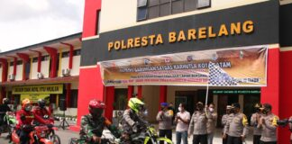 Puluhan komunitas motor trail diikutsertakan dalam Satgas Karhutla Kota Batam