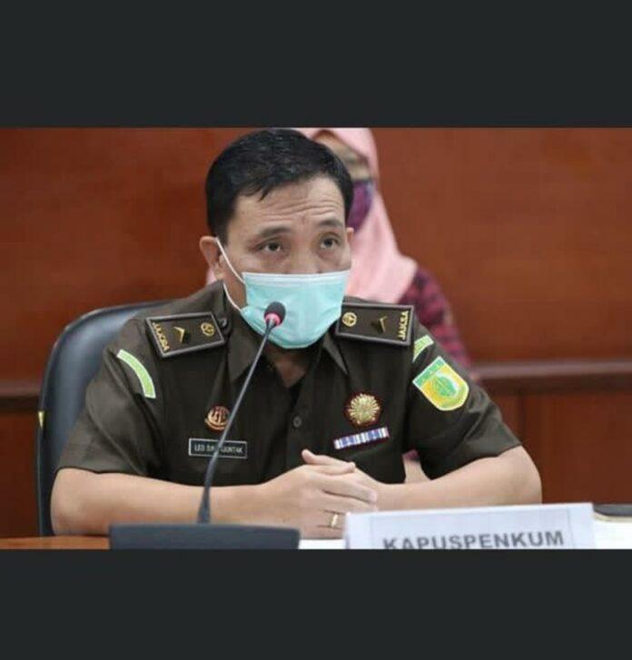 Kepala Penerangan Hukum (Kapuspenkum) Kejagung Leonard Eben Ezer Simanjuntak (Suryakepri.com/ist)