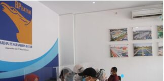 Kantor area pelayanan PT. Moya Indonesia, Batam.