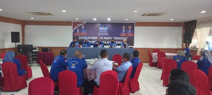 Rapat Koordinasi yang dilaksanakan di Restoran Golden Prawn Batam, Selasa (16/3/2021) kemarin.