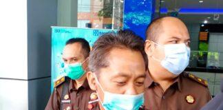 Aspidsus Kejati Kepri Wagiyo saat ditemui di Kantor Cabang BRI Tanjungpinang (Suryakepri.com/Muhammad Bunga Ashab)
