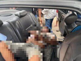 Seorang pria ditemukan tewas di dalam mobil di depan toko Kris Buah, Jodoh, Lubukbaja, Kamis (18/3/2021) sore.