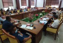 RDP ketiga di ruang rapat Komisi I DPRD Kota Batam, Kamis (18/3/2021), dengan PT Graha Trisakti Indonesia.