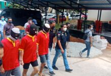 3 pelaku pengedar 102 gram Sabu, Batam (23/03/2021).