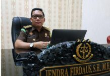 Kepala Seksi Penerangan Hukum Kejati Kepri Jendra Firdaus (Suryakepri.com)