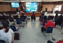 Walikota Batam, Muhammad Rudi rapat bersama pelaku usaha pariwisata Nongsa, Rabu (24/3/2021)