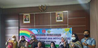 Asosiasi Perusahaan Sahabat Anak Indonesia Cabang Kabupaten Karimun resmi dikukuhkan, Kamis (25/3/2021). Foto Suryakepri.com/YAHYA