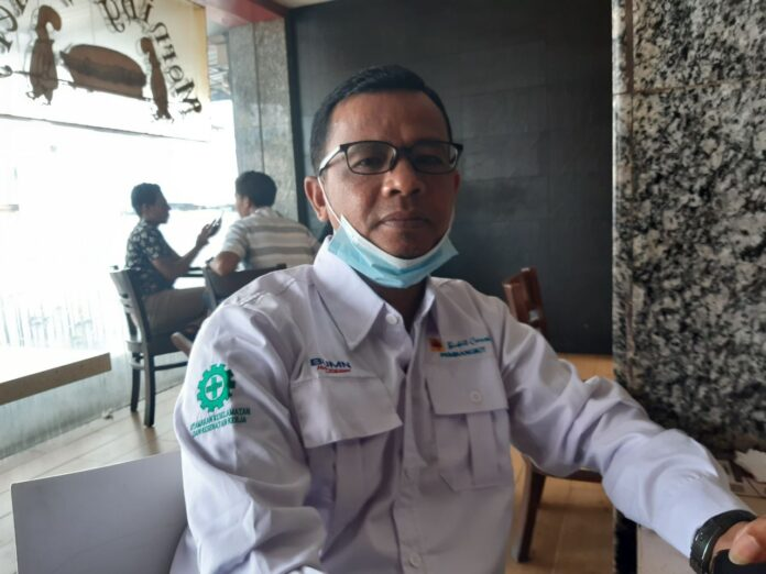 Manajer Unit Layanan Pembantu PLN Karimun, Djaswir. Foto Suryakepri.com/IST