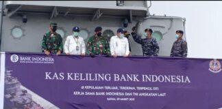 Bank Indonesia Perwakilan Kepulauan Riau (Kepri) bekerjasama dengan TNI Angkatan Laut melakukan pelepasan KRI Tjiptadi 381, yang dilaksanakan di Dermaga Pelabuhan Batuampar pada Senin (29/3/2021) pagi.