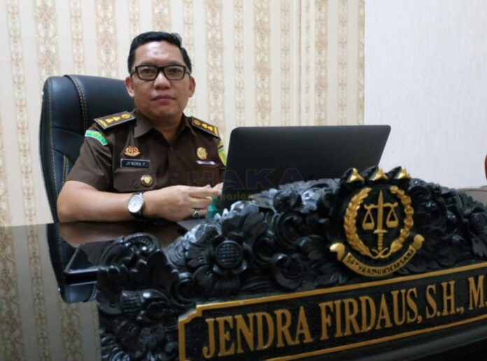 Kepala Seksi Penerangan Hukum Kejati Kepri Jendra Firdaus (Suryakepri.com/ist)