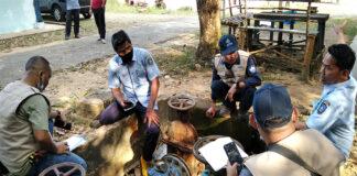 Tim teknis Business Development (BD) ATB meninjau kondisi lapangan di PDAM Tirta Kepri di Tanjung Pinang beberapa waktu lalu. PDAM Tirta Kepri andalkan ATB guna meningkatkan performa dan kinerja pelayanan air bersih jadi lebih baik.