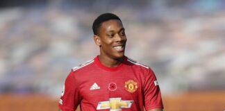 Striker Manchester United Anthony Martial masuk daftar jual pada bursa transfer 2021. (Foto dari Sportsmole)