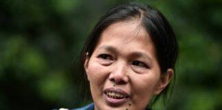 Baby Jane Allas, pekerja rumah tangga asal Filipina yang dipecat di Hong Kong setelah didiagnosis mengidap kanker, meninggal karena kondisi medis yang berbeda. (Foto: AFP / ANTHONY WALLACE vis CNA)