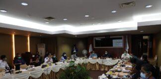 Foto pertemuan yang dikemas dalam acara Ngopi Bareng BSOA yang digelar oleh Biro Humas Promosi dan Protokol BP Batam, Kamis (4/3/2021), di Gedung Marketing Centre, BP Batam.