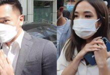 Gisella Anastasia dan Michael Yukinobu De Fretes dipertemukan lagi. Keduanya tiba di Pengadilan Negeri Jakarta Selatan, Selasa (23/3/2021). (kolase/Tribunnews.com/Bayu Indra Permana)