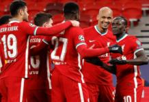 Liverpool lolos ke babak delapan besar Liga Champions 2020/21 usai mengalahkan RB Leipzig 2-0 (agregate 4-0) di babak 16 besar. (Foto dari Uefa.com)