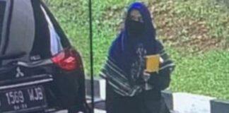Zakiah Aini, perempuan berpistol penyerang Mabes Polri. (Foto: ist)