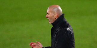 Pelatih Real Madrid Zinedine Zidane. (Foto Reuters via Sportsmole)