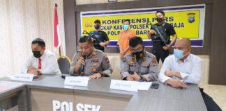 Try Yadi (30), pelaku pencurian mobil Mazda BP 1030 I, di Ruko Penuin Blok Y, Lubukbaja, Kamis (29/4/2021) pagi diringkus polisi.