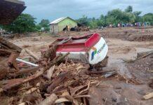 Banjir Bandang di Flores Timur NTT/foto:ist