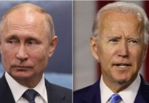 Foto: Vladimir Putin dan Joe Biden (BBC World)