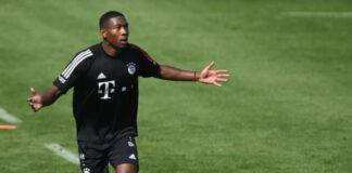 Bek Bayern Muncih David Alaba.