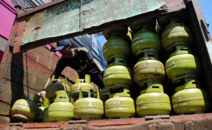 ilustrasi tabung gas elpiji 3 kilogram. Foto: net