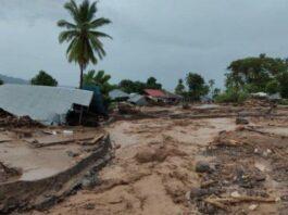 Banjir bandang di Waiwerang, Flores Timur, NTT(Pos-Kupang.com)
