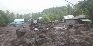 Banjir bandang Flores Timur, NTT, Minggu (04/04/2021)