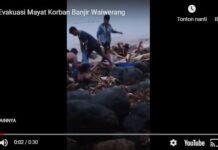 Video ditemukan mayat Guuru SMAN 1 Adonara Timur, Flores Timur, NTT, Minggu (04/04/2021)