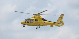 Helikopter AS-365 yang digunakan untuk penanganan darurat bencana banjir bandang dan tanah longsor yang melanda 12 kabupaten/kota di Provinsi Nusa Tenggara Timur (NTT). (Kedeputian Bidang Penanganan Darurat BNPB). Foto: BNPB