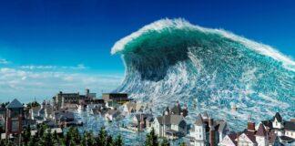Ilsutrasi Tsunami (Tangkapan Layar Youtube)