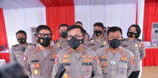 Kakorlantas Polri Irjen Pol Istiono (tengah depan). Foto: Humas Polri