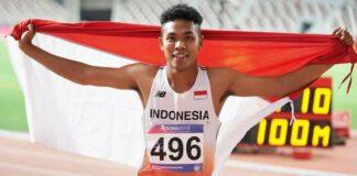 Lalu Muhammad Zohri adalah pelari Indonesia. Dia adalah orang Indonesia pertama dan satu-satunya pria Asia yang memenangkan medali apa pun di Kejuaraan Dunia U20 IAAF dengan memenangkan medali emas di nomor 100m. Zohri juga masuk daftar Forbes 30 under 30 Asia 2021 di bidang Entertainment dan Sports. Zohri lahir di Lombok Utara pada 1 Juli 2000 (umur 20 tahun), atau berzodiak Cancer.