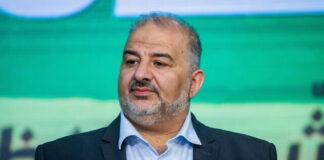 Ketua Partai Ra'am, Mansour Abbas. (Foto: Times of ISrael)