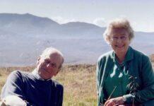 Foto kenangan almarhum Pangeran Philip bersama Ratu Elizabeth II (IG: theroyalfamily)
