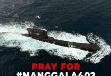 #PrayForKRINanggala402 (Twitter)