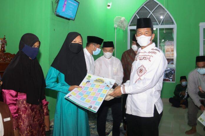 Walikota Batam saat safari Ramadhan, Mingu (18/04/2021)