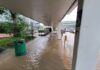 Singapura banjir bandang setelah diguyur hujan deras, Sabtu (17/04/2021)/ channelnewsasia.com