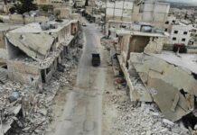 Kondisi negara Suriah setelah bertahun-tahun perang. (dw.com)