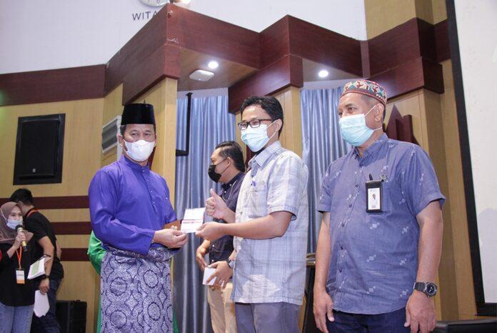 Walikota Batam, H. Muhammad Rudi Bersama jajaran Pimpinan bright PLN Batam