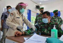 Kegiatan donor darah Lanud RHF (Suryakepri.com)