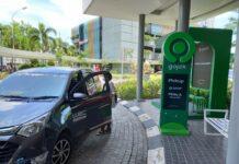 Titik Jemput (Pick Up) dan Titik Antar (Drop Off) Point di Lobby Utama Mega Mall Batam pelayanan dari Gojek