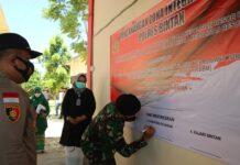 Pencanangan Zona Integritas menuju WBK-WBBM di Polres Bintan (Suryakepri.com)