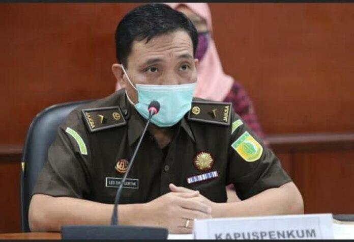 Kapuspenkum Kejagung RI Leonard Eben Ezer Simanjuntak (Suryakepri.com)