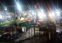 Pasar kaget depan kantor camat bengkong