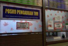 Disnaker Karimun membuka Posko Pengaduan THR Idul Fitri 1442 Hijriah/2021 Masehi. Foto Suryakepri.com/YAHYA