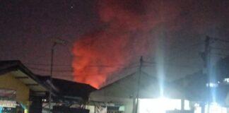 Sebanyak 12 kos-kosan di RT 01 RW 01 Sengkuang, Batuampar, dilalap sijago merah, Senin (26/4/2021) dini hari.