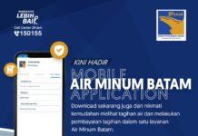 Aplikasi AIR MINUM Batam dari PT. Moya