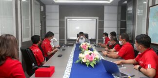 ali Kota Batam, Muhammad Rudi mengajak Telkomsel untuk ikut serta berperan dalam membangun Kota Batam